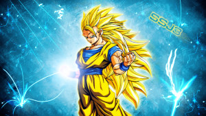 Goku SSJ3 Wallpaper by Pedroaf