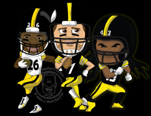 Steelers Football Colouring Pages 764x465px