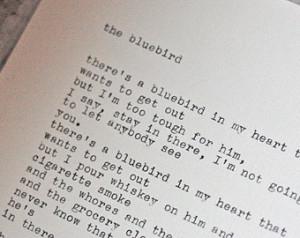 CHARLES BUKOWSKI full poem