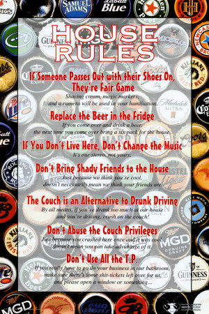 Famous Drinking Quotes Buy Joke Poster 24x36 in.