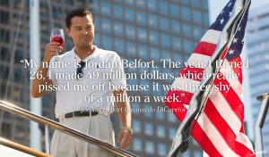 Wall Street Quotes The wolf of wall street