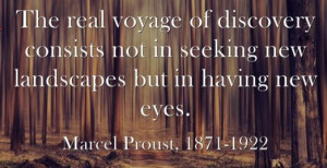 Marcel Proust & #Discovery #Quote