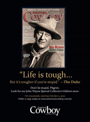 For our upcoming John Wayne Collector's Edition, on newsstands October ...