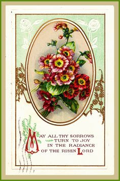 ... bouquet.Free Easter clipart.Christian decorating.whateverislovely.com
