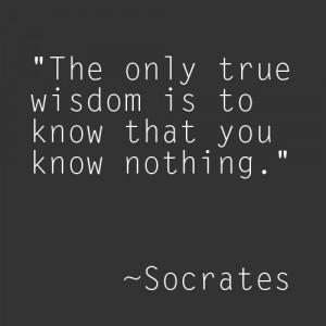 ... locks. Socrates Wisdom Know Nothing . Socrates Quotes On Philosophy