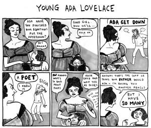 Young Ada Lovelace