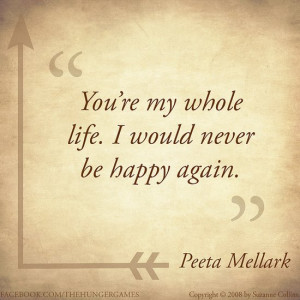 Cute Video Game Love Quotes The hunger games quotes
