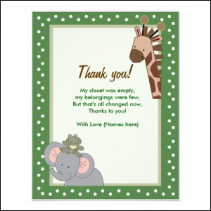 cute baby shower thank you quotes