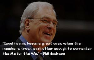 Phil Jackson y su filosofía