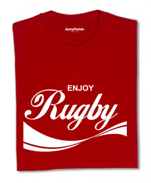 Rugby Slogans Enjoy rugby. 16.99