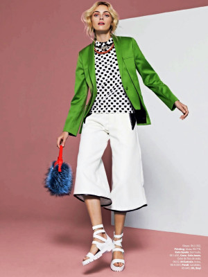 How To Wear Culottes According To Vogue Brazil 2014