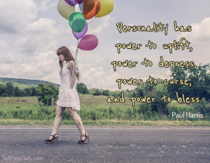 ... The thing that truly separates us from everyone else: Our personality