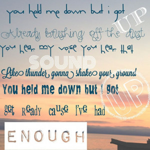Credited Song Lyric Quotes
