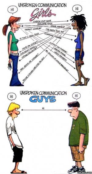 Girls vs. Guys Communication