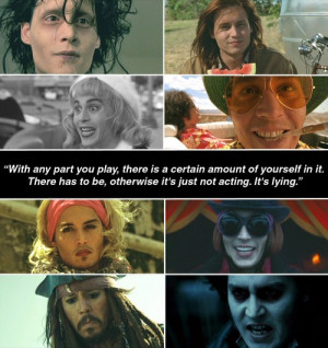 Johnny Depp's movie characters Johnny Depp Characters