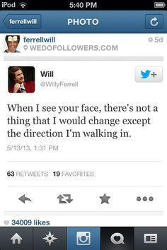 Will Ferrell Not Twitter