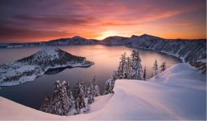 ... & Beauty ~ Crater Lake ~Oregon ~ USA ~ A beautiful place to visit
