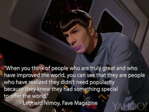 Read Leonard Nimoy's 1968 Words of Wisdom to a Mixed-Race Teen