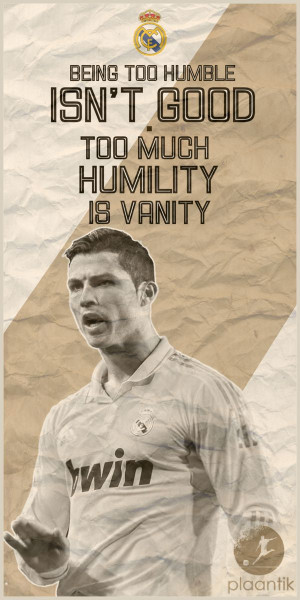 CR7...great quote and one of my favorite soccer pictures ever to go ...