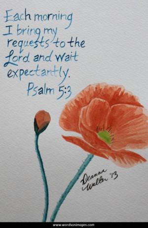 Bible inspiration...
