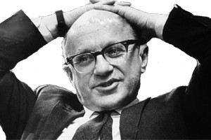The late Milton Friedman, the Paul Snowden Russell Distinguished ...