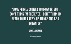 People Need To Grow Up Quotes