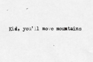 Lit #typewritten #dr seuss #oh the places you'll go #quote #chin up