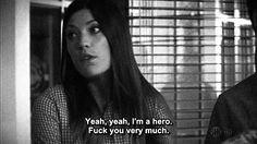Debra Morgan, I LOVE her lol she is my twin i swear Dexter Morgan ...