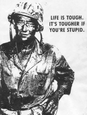John Wayne....Need to get the next generation to know this guy....