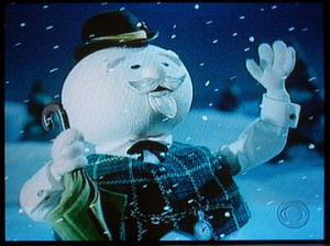 Burl Ives Sam Snowman From Rudolph