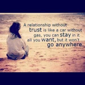 Relationship trust