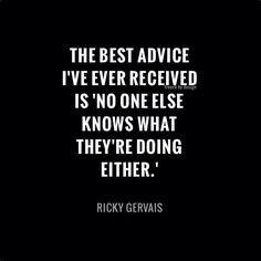 advice via ricky More