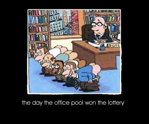 The Day the office pool won the lottery