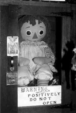 Ed and Lorraine Warren Doll