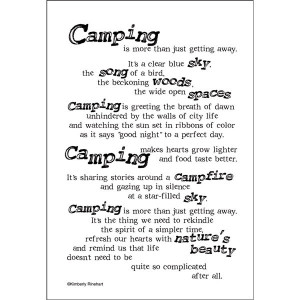 Camping Is More Than Just Getting Away It's A Clear Blue Sky, The ...