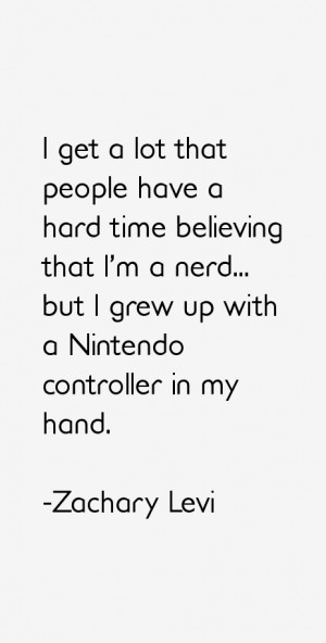 Zachary Levi Quotes & Sayings