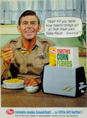Andy Griffith Commercials...Mmmmm Good!