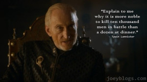 Tywin Lannister Quotes (6)