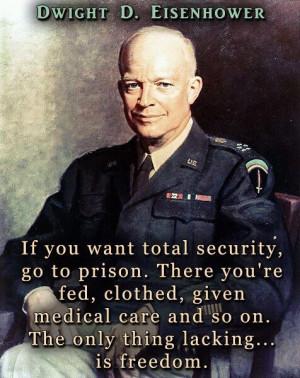 Eisenhower - I shook his hand when I was 14!! I like Ike!!