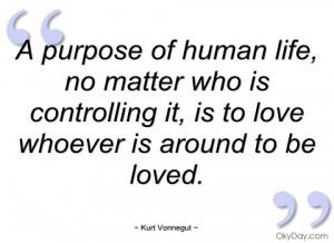 purpose of human life