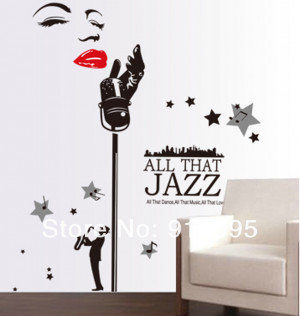 ... Monroe-Jazz-Music-Vinyl-Wall-Quotes-Mural-Removable-PVC-Wall-Decal.jpg
