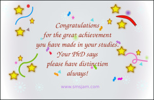 > Congratulations SMS > Congrats for great achievement made in your ...