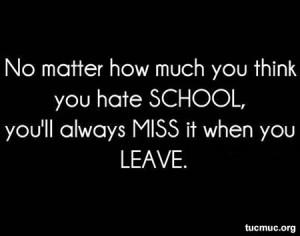 hate school quotes Hate School Quotes School