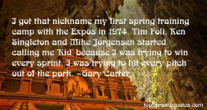 Gary Carter Quotes Pictures