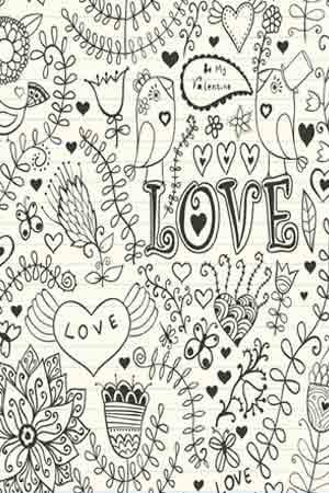 Drawings Of Love Quotes Drawing of romantic flowers