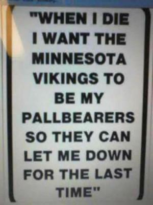 Vh Funny Minnesota Vikings Sign
