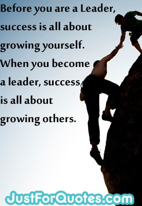 It goes to prove that bring a true leader means that they can #inspire ...