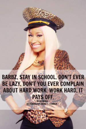 nicki minaj quotes tumblr