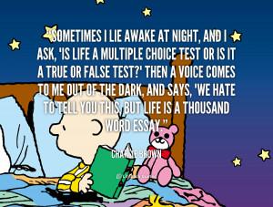 Charlie Brown Credited Quoteko