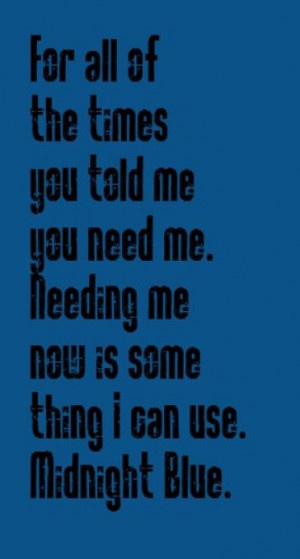 Melissa Manchester- Midnight Blue - song lyrics, songs, music lyrics ...